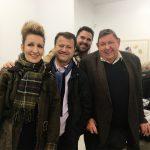 Carollyne, Rahmi, Rande, Michael at Winchester Galleries