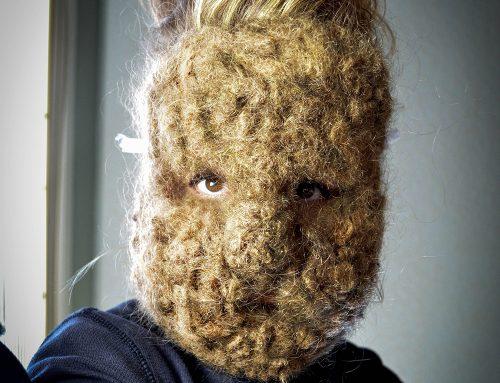 Human Hair Squirrel Mask (2012-2018)