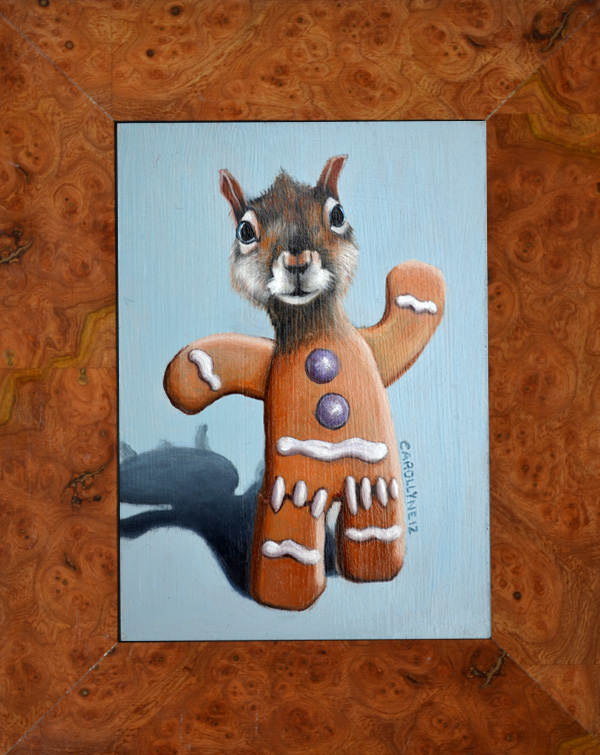 Gingerbread Squirrel
