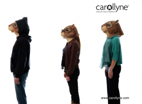 Carollyne Squirrealism Photoshoot May 8th, 2013