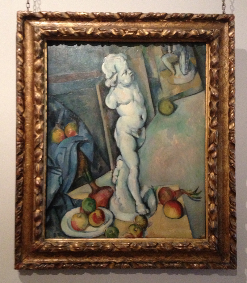 Paul Cezanne (1839-1906) Still Life With Plaster Cupid, 1894. Courtauld Gallery, London, UK.