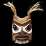 Rande Cook - Squirrel Mask, Cedar, 2014