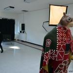 Behind the scenes footage of photo shoot. Chief Rande Cook in Regalia. Feb 2014.