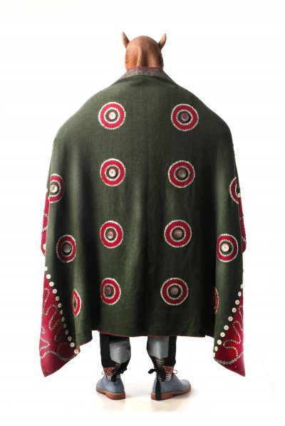 """The Matrix (Rande Cook Regalia Back View). Pigment prints Moab Fine Cotton Velvet Paper - 24"""" x 36"""""""